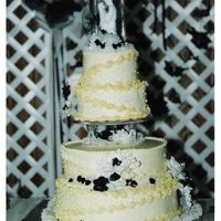 Wedding Cake I made this for my sister about 10 or 11 years ago? I can't even remember how long she's been married. I hadn't been...