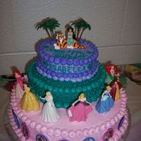 Princess Isabella's Big Day I love this website, as I am very new to cake decorating. I've only had 3 lessons in a basics class so far. This cake is a product of...