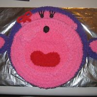 Purple & Pink Monkey This is a cake that I done for my cousin's little girl. She loves monkeys and pink & purple. This was a fun cake to make. It is...