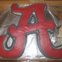 Bama Cake I done this cake for my uncle for his birthday. It is a yellow cake with bc icing. He is a huge Bama fan and loved it. Thanks mqguffey for...