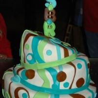 Retro this cake was inspired my a cc member. Probably one of my favorite cakes that I have made. It was for my neices 13th birthday party in a...