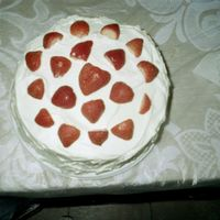 Strawberry Shortcake #2 This cake might be a duplicate of a previous one I uploaded, might have to remove this one.