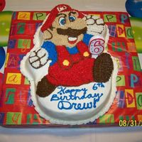 Super Mario I made this cake for my 6 year old grandson. It was my first time freezing a cake . I really loved how moist it was and flavorful. It is...