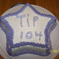 Tip 104 Challenge Cake A cake done through this forum with a challenge of using just Tip 104. :)Susie