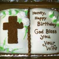 Bible Birthday Cake chocolate cake covered in MMF - this is my first time trying MMF