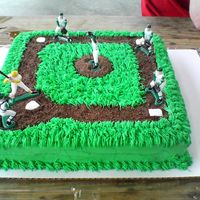 Baseball Field Made this for the t-ball team end of season party. The kids stole all the players!! lolI didnt know what album to put this in...