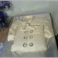 Chefs Coat   Here is a picture of a chefs coat for a recent culinary graduate, covered 100% in homemade marshmallow fondant.