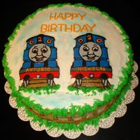 Thomas The Train For Twin Boys