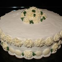 Birthday Cake Idea take from Wilton course book #1