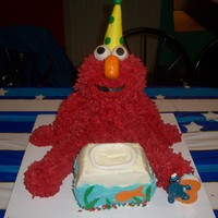 Elmo My spin on elmo from all the great ideas here on CC.THANKS!!!