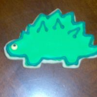 Dinosaur Cookie