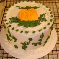 Pumpkin Spice all buttercream design