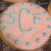 Cookies.jpg nfsc and mmf ~ these were favors at a baby shower...these are the baby's initials.
