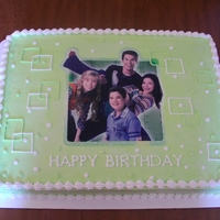 Icarly This was last minute cake for a friends daughter but it did turn out cute