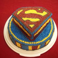 Superman This was for my son's birthday. Everything was star tipped.