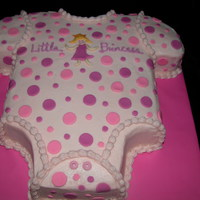 Princess Onsie Buttercream with MMF polka dots and princess. Thanks to all who post their wonderful work and ideas. I search here first! I will attempt to...
