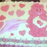 "Kathryn's Baby Shower For my best friend's daughter - 1/2 vanilla, 1/2 chocolate cake with buttercream frosting and fondant ""blanket"". She loved..."