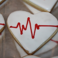 Heart Cookies Did these for a fund raiser for heart health month =)