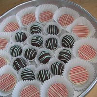 Oreos And Cakeballs oreos are inspired by sugarshack.Thanks for looking.