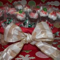 Chirstmas Cupcake Lollies These lollies are made at last minute Christmas treat for my son's school.I have used whatever I have in my kitchen to make them, so...