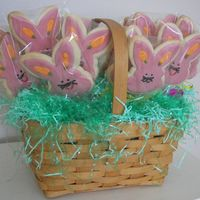 Easter Bunny Cookies NFSC with Antonia RI.Thank you for looking.