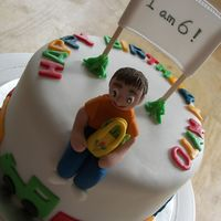 Boy's Birthday Cake