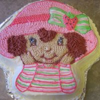 Strawberry Shortcake This was made for my daughter's 3rd birthday.