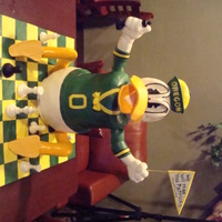 Go Ducks!!! This was for a going away party at a big company! The guest of honor was obsessed with his alma mater, The University of Oregon and playing...