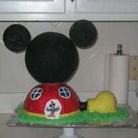 Mickey Mouse Clubhouse   Made this for my friend's son who turned 3.