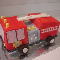 Firetruck   4th birthday firetruck. TFL