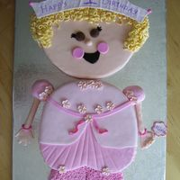 Pretty Princess   this is a cake from a wilton year book. Turned out well!