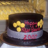 "Happy New Year's Top Hat Thought of the Top Hat and thought it'd be easy. Well, easy it was.... though still very time consuming. The rim is a 12""..."
