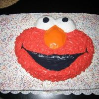 Elmo So easy and fun!! The last time I did ALLLLL of the little flower thingies and my hands were numb for a week. This time just picked at the...