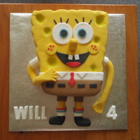 Spongebob This is the first time that I've ever made or attempted to make a SpongeBob cake.I was very happy with how it turned out. My great...