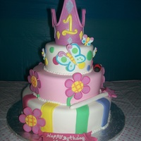 Birthday Princess Cake   as the one from Pink Cake Box, all fondant