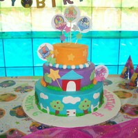 Backyardigans Buttercream Cake