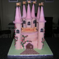 Castle Cake This was for a neighbours daughters birthday and was great fun to make.