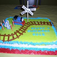 Cole's Thomas The Train Cake