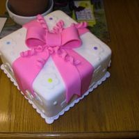 Fondant Packaged Cake