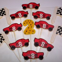 Race Car Cookies RI and NFSC