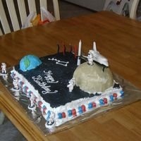 Hunters 6Th Birthday Cake