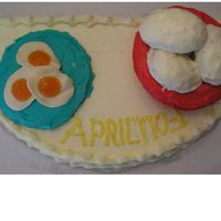 April Fool Cake This is waht I came up with.Thanks for all the help.Sure hope she likes it.Vicki