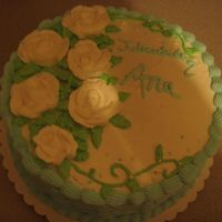 Baby Shower My first Cake for a babyshower.
