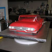 1960 Impala Front  I made this as the groomette cake for a friend's wedding. I think it turned out pretty well. Not perfect, but I still liked it. I got...