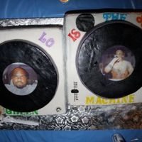 Turntable Birthday Cake For Cee-Lo Of Gnarles Barkley And Goodie Mob