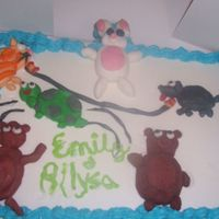 Allysa's First Cake!
