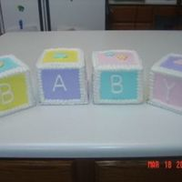 Baby Blocks Front of Baby Blocks