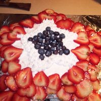 4Th Of July Cake-My First Cake Ever!!! This is my first attempt at a cake EVER, I wasn't very please with the results, but hopefully it will only get better. I found that my...