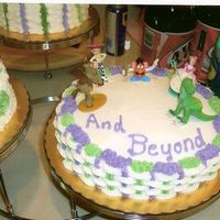Toy Story 1 View   this was the bottom tier of the toy story cake.