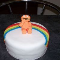 Zippy   cake for a work collegue's son who loves zippy from rainbow